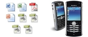 Blackberry business mobile phone