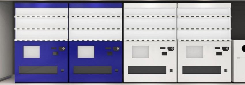 Industrial vending machines
