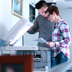 Renegociate photocopier contract