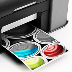 Colours or black and white printer