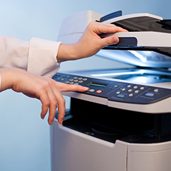 Photocopier printer difference