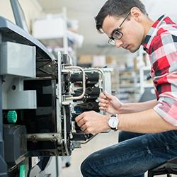 Maintenance cost photocopier
