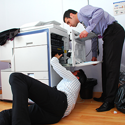 Photocopier breakdowns