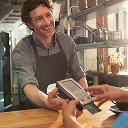 Credit card machine for small business